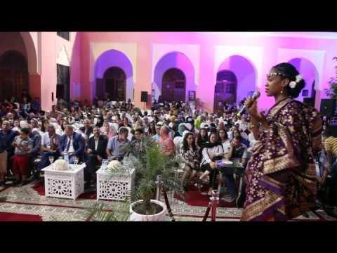 المشاركة الافريقية في مهرجان حب الملوك بالمغرب