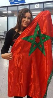 صورة صوتوا لملكة المسؤولية الاجتماعية المغربية حسناء ازواغ
