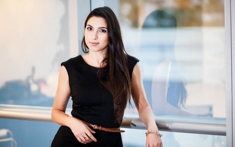 صورة المغربية نادين حنفي من ضمن 50 شخصية عربية الاكثر تأثيرا حول العالم حسب المجلة البريطانية The Middle East