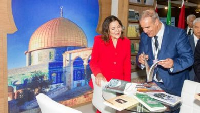 صورة الأميرة لالة حسناء تفتتح المعرض الدولي للكتاب الذي يعرف مشاركة 703 عارض هاته السنة
