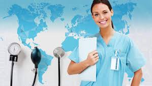 """صورة اليوم العامي للممرض تحت شعار """" الممرضون صوت من اجل القيادة _ لعالم بصحة جيدة"""""""