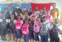 صورة بالصور- القوات المسلحة الملكية المغربية تحتفل بيوم الطفل في الكونغو الديموقراطية بتوزيع هدايا والعاب ممتعة للأطفال
