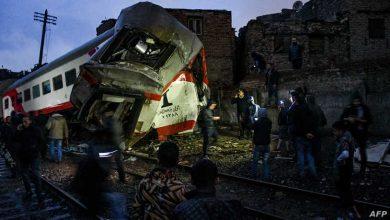 صورة مصر- ارتفاع حصيلة ضحايا قطاري سوهاج الى 32 قتيل و66 مصاب وسبب الاصطدام فتح البلف من قبل مجهولين