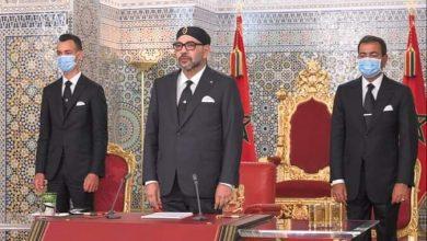 صورة المغرب- نص الخطاب الملكي السامي بمناسبة عيد العرش المجيد الذي يصادف الذكرى الثانية والعشرين لتربع جلالته على عرش أسلافه المنعمين.